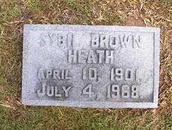 Sybil Nancy Brown Heath (1901-1968) - Find A Grave Memorial