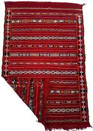 red kilim rug