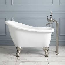 fix hole in acrylic bathtub best of 43 carter mini acrylic clawfoot tub tubs acrylicsfix