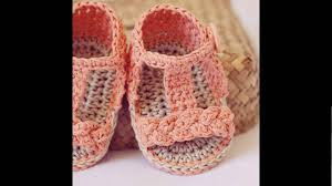 Crochet Baby Sandals Pattern Gorgeous Crochet Baby Sandals Patterns YouTube