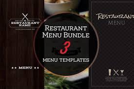 Two Restaurant Menu Design Software Programs Archives