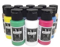 Minitaire Paint Conversion Chart Badger Airbrush Restock And New Paints