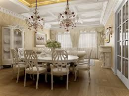 Luxury Casual Dining Room With Classic Furniture Sets And Awesome - Casual dining room ideas