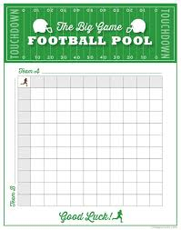 Free Football Board Template – Tmplts