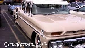 1962 GMC RailRoad Rare Crew Cab Pick Up Truck - YouTube