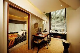 living room with bed:  living room and bedroom adorable with eton emerald lofts gt floor