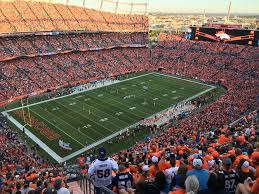 Invesco Field Seating Chart Club Level Denver Broncos Club Level Seats At Empower Field