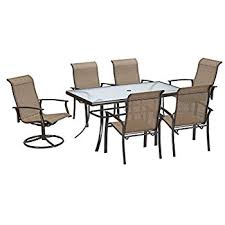 outdoor table and chairs. 7 Piece Dining Set Perfect For Any Outdoor Needs. This Is One Of Table And Chairs S