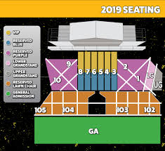 We Fest Seating Chart 2016 Tickets We Fest