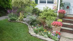 Small Picture Dry stack stone wall edging Garden Design Edging Pinterest