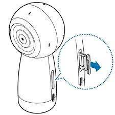 How Do I Insert A Memory Card In My Gear 360 Samsung