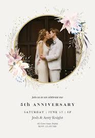 50th Anniversary Party Invitations Anniversary Invitation Templates Free Greetings Island