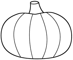Small Picture Printable Pumpkin Coloring Pages Blank Pumpkin Coloring Page Free