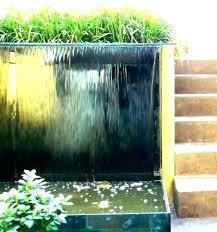 water wall fountain outdoor outdoor waterfall wall outdoor wall water fountain waterfall wall fountain patio wall