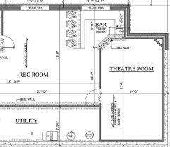Basement Design Plans Model Custom Design