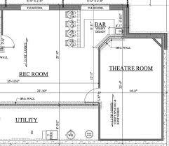 Basement Design Plans Model Custom Design