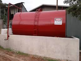 5000ig aboveground fuel storage tank with fuel distribution system