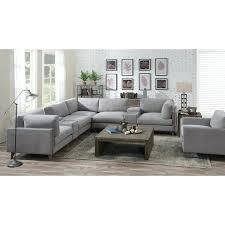 modular leather sectional costco sleeper sofa dove grey free home improvement beautiful emerald 7