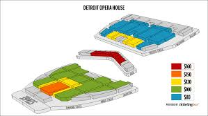 Detroit Opera House Balcony Seating Chart Image Balcony