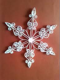 Quilled Snowflake Quilling Creaties Baukje Weihnachten