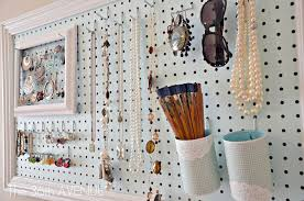 Full Images of Decorative Pegboard Hooks Peg Board And Accessories Station  The 36th Avenue ...