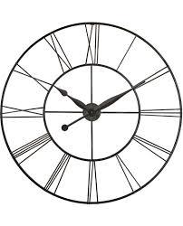 wall clocks for office. 45 Inch Skyscraper XXL; A Black Steel Wall Clock Clocks For Office