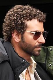 bradley cooper short curly hair men