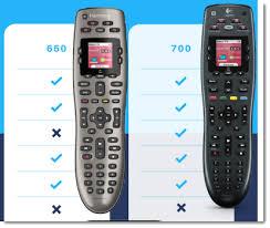 Logitech Remote Comparison Chart Logitech Harmony 650 Vs 700 Universal Remote Review With