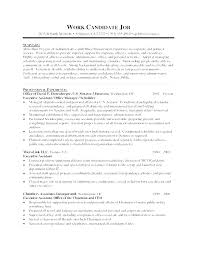 Examples Of Administrative Assistant Resumes Administrative Assistant Duties Examples Example Resume Office