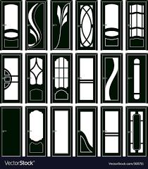 Door Vector Design Door Forms