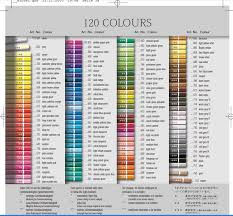 Supracolor Color Chart Art Supply Addicts Anonymous 2010 Page 37 Wetcanvas