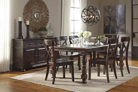 Pine Kitchen Table And Chairs Signature Design By Ashley Gerlane 9 Piece Solid Pine Dining Table