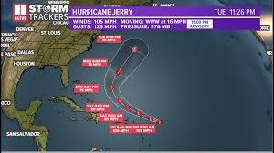 Jerry becomes a category 2 storm | 11alive.com