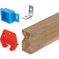 wood drawer track repair kit