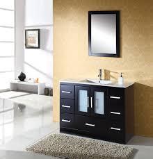 60 Inch Single Sink Vanity Cabinet Small Bathroom Vanity Image Of Small Bathroom Vanities And Sinks