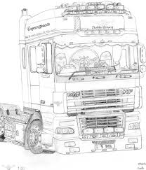 drawing of trucks the trucknet uk drivers roundtable view topic truck drawings
