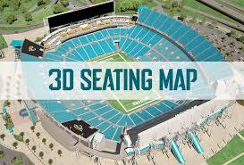 Jacksonville Jaguars 3d Seating Chart Jacksonville Jaguars Ticket Sales