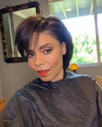 Short Hair Dont Care Ciara Debuts Her New Pixie Cut Wig At The
