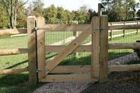farm fence gate. Wood Farm Fence Gate Farm Fence Gate |