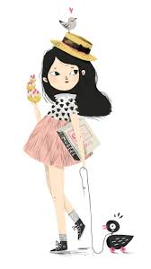 Illustration Lucille Michieli Parisienne Paris Fashion Kid