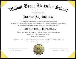 High School Diploma Template Beautiful Of Great Homeschool Free
