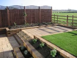 Small Picture 32 best Phils garden images on Pinterest Sleeper retaining wall