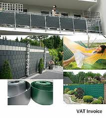 privacy garden fence mesh panel cover