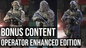 Operator Enhanced Edition Bonus Content Showcase - Call of Duty ...
