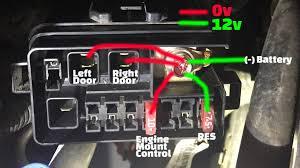 res screen and both power doors failing at same time intermittently res screen and both power doors failing at same time intermittently continuity