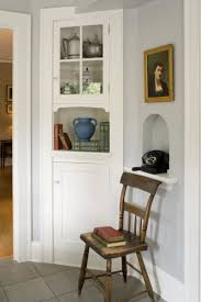 Awesome This Painted Corner Cabinet, Original To The Breakfast Room, Inspired The  Straightforward Design Of