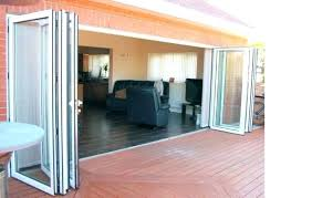 accordion patio glass doors accordion patio doors in stylish decorating home ideas with accordion patio doors