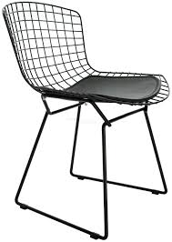 wire side chair coloured harry bertoia reion