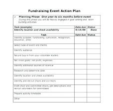 Fundraising Plan Template Non Profit Event Planning Template Top Fundraising Plan
