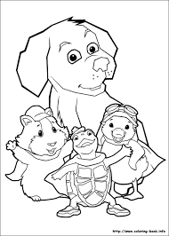 Small Picture Wonder Pets Coloring Pages Printable Coloring Home